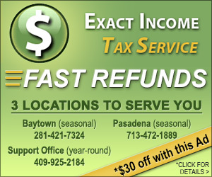 Catholic Business Exact Income Tax Service in Santa Fe TX