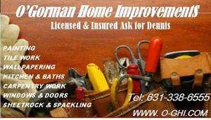 Catholic Business O'GORMAN HOME IMPROVEMENTS in North Babylon NY