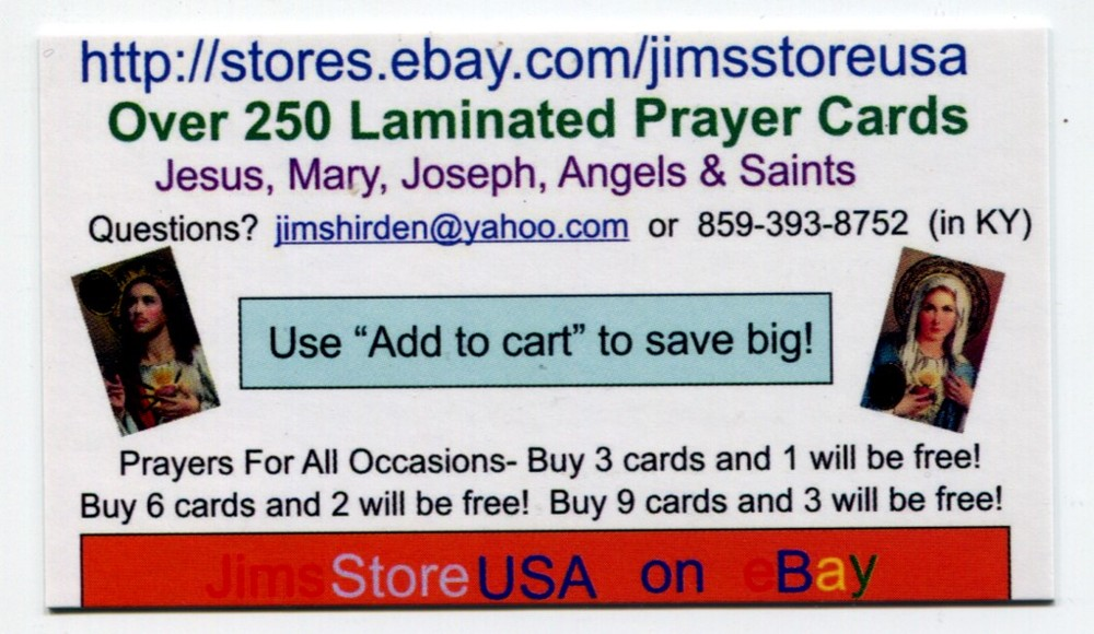 Free holy cards buy 3 and 1 will be free local catholic business free holy cards buy 3 and 1 will be free colourmoves