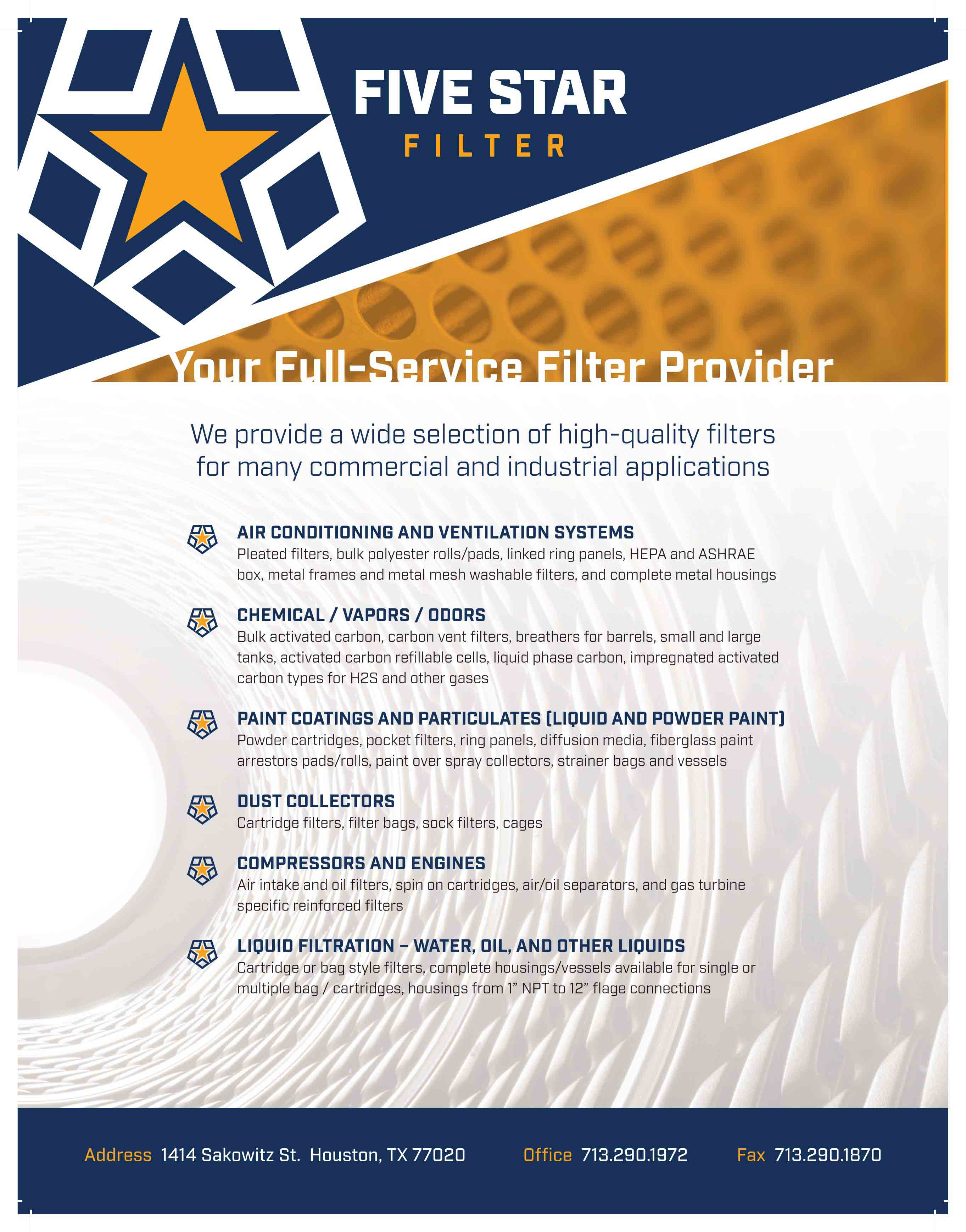 5 Star Filter - Business - Local Catholic Business